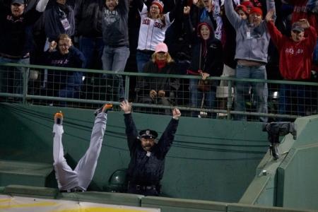 ALCS Game 2: Detroit Tigers Vs. Boston Red Sox At Fenway Park
