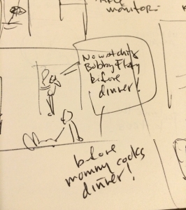 Flay sketch