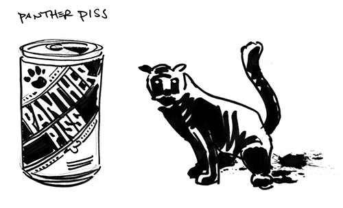 panther piss