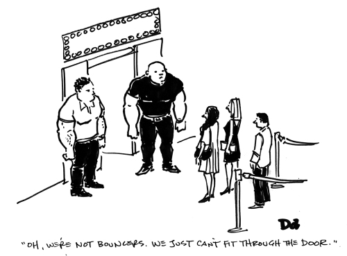 bouncers-sketch